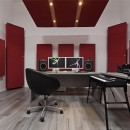 Bass traps per studio di produzione musicale