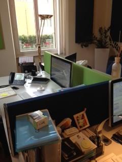 Divisori scrivanie ufficio